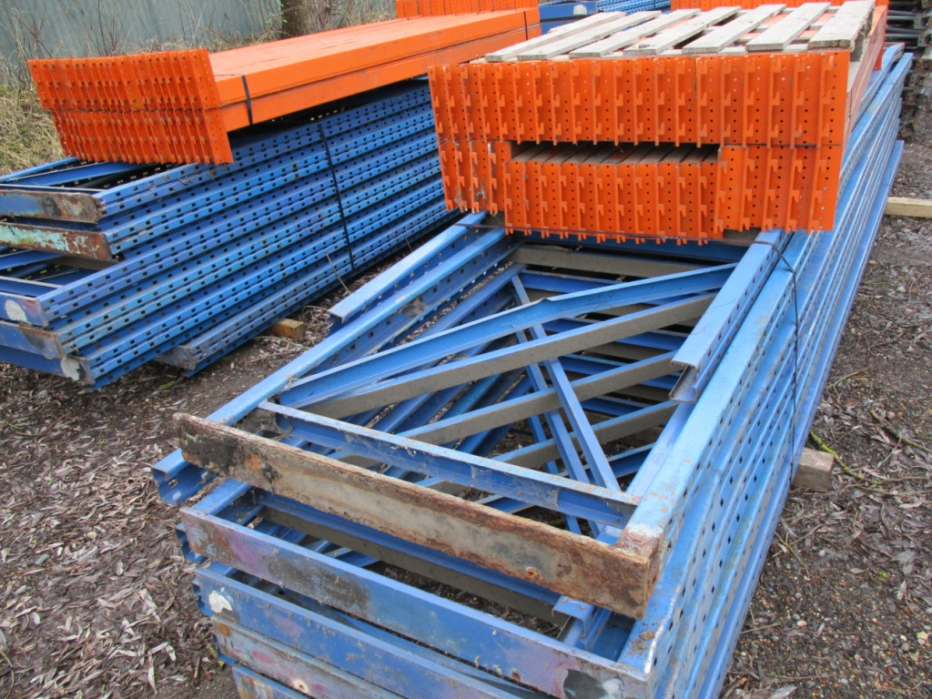 Lot 109 - QTY OF PALLET RACKING..