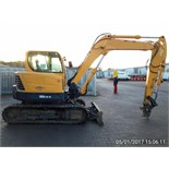 Lot 102 - Hyundai Robex 80CR-9 Excavator, Year 2013 build