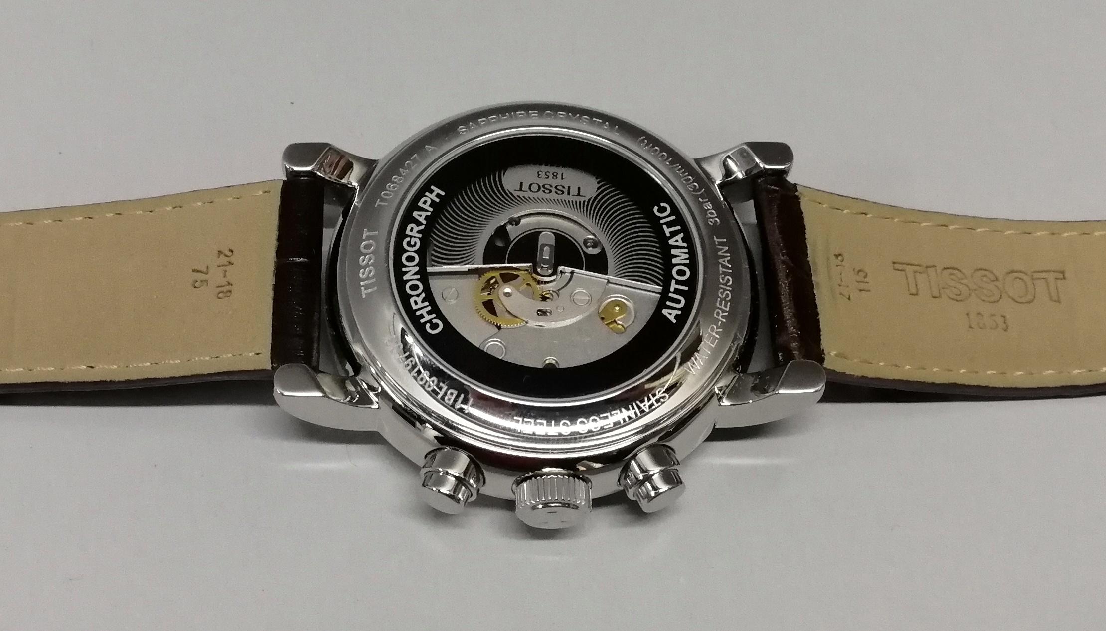 Lot 38 - TISSOT. Orologio da uomo in acciaio di produzione attuale. Anno 2014. Con scatola originale e