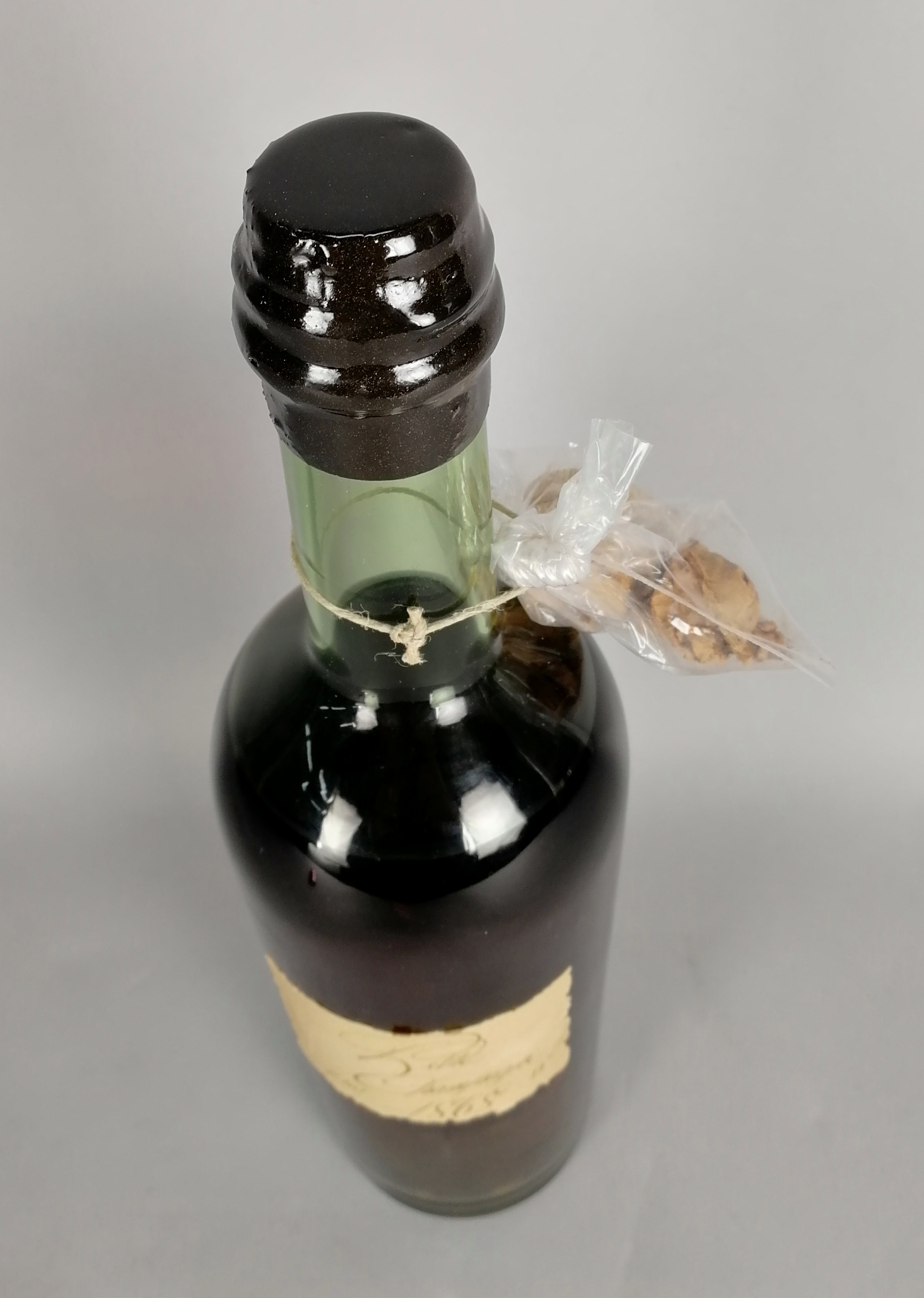 Lot 47 - Cognac CHARLES LHERAUD - Domaine de Lasdoux, Petite Champagne, Vintage 1868. Imbottigliamento