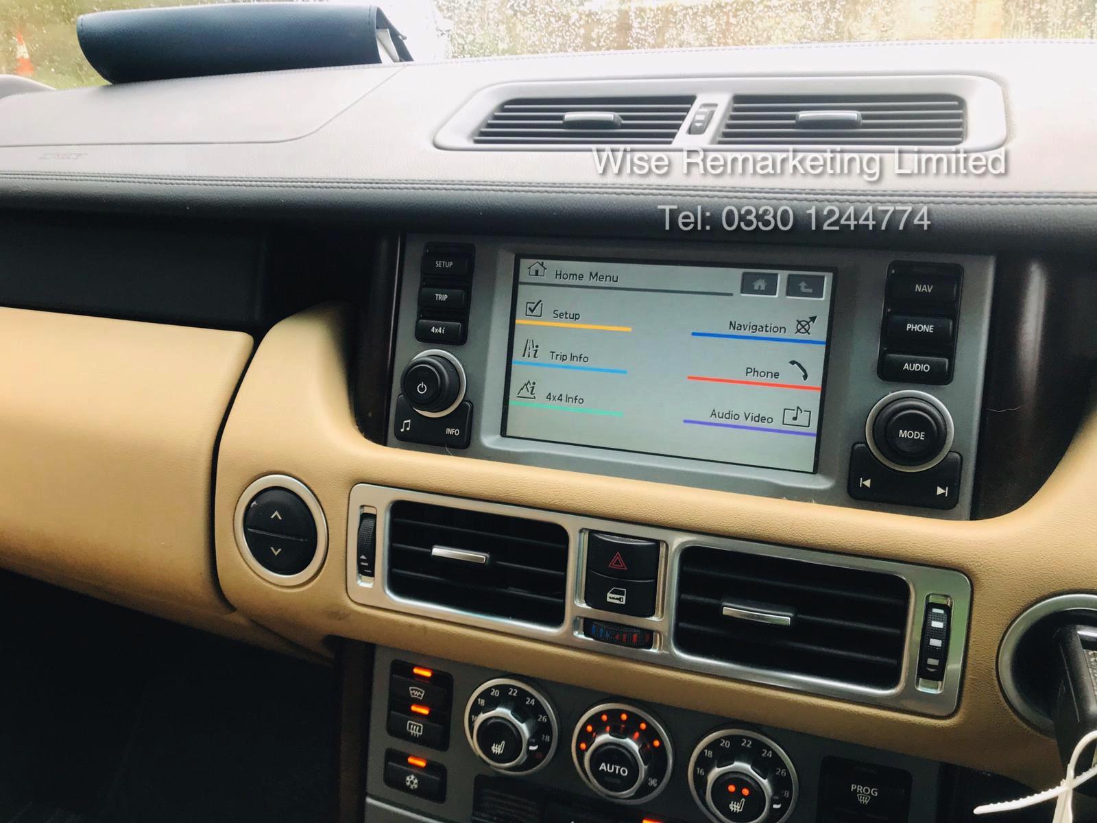 Range Rover Vogue 3.6 TDV8 HSE Auto - 2010 Model - Cream Leather - Service History - - Image 20 of 28