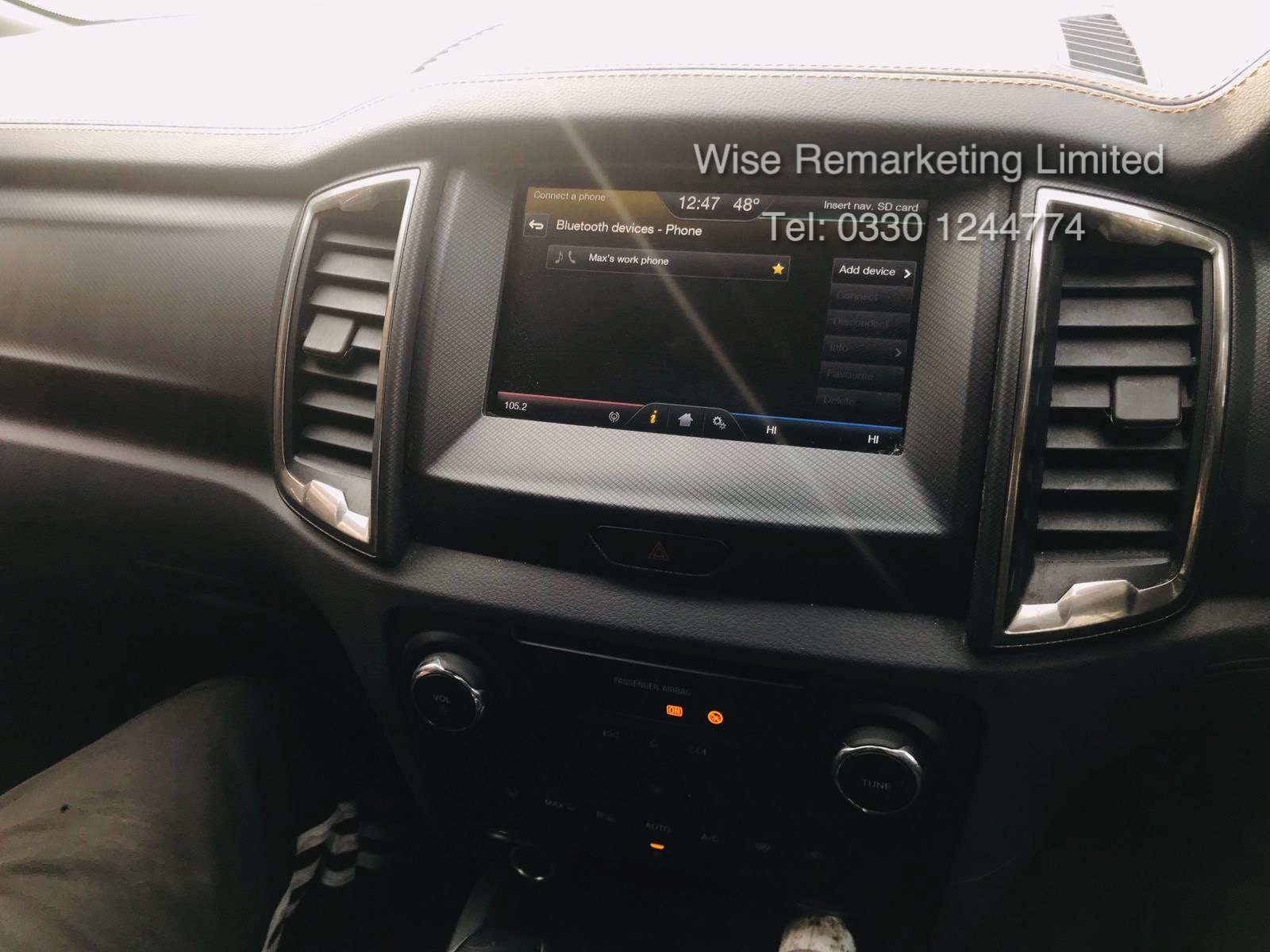 Ford Ranger 3.2 TDCI WILDTRAK - Auto - 2017 Model - 1 Former Keeper - 4x4 - TOP OF THE RANGE - Image 12 of 16