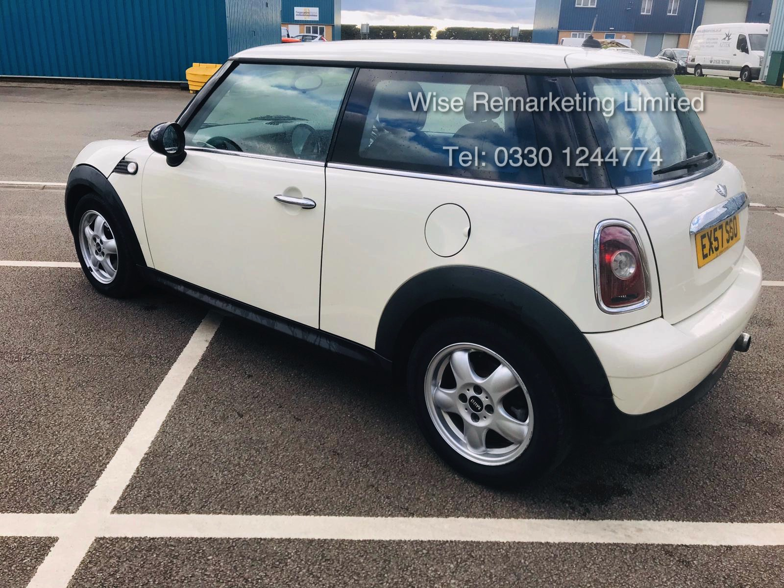 (RESERVE MET) Mini Cooper 1.4l One - 2008 Model - Service History - Air Con - White - Image 5 of 23