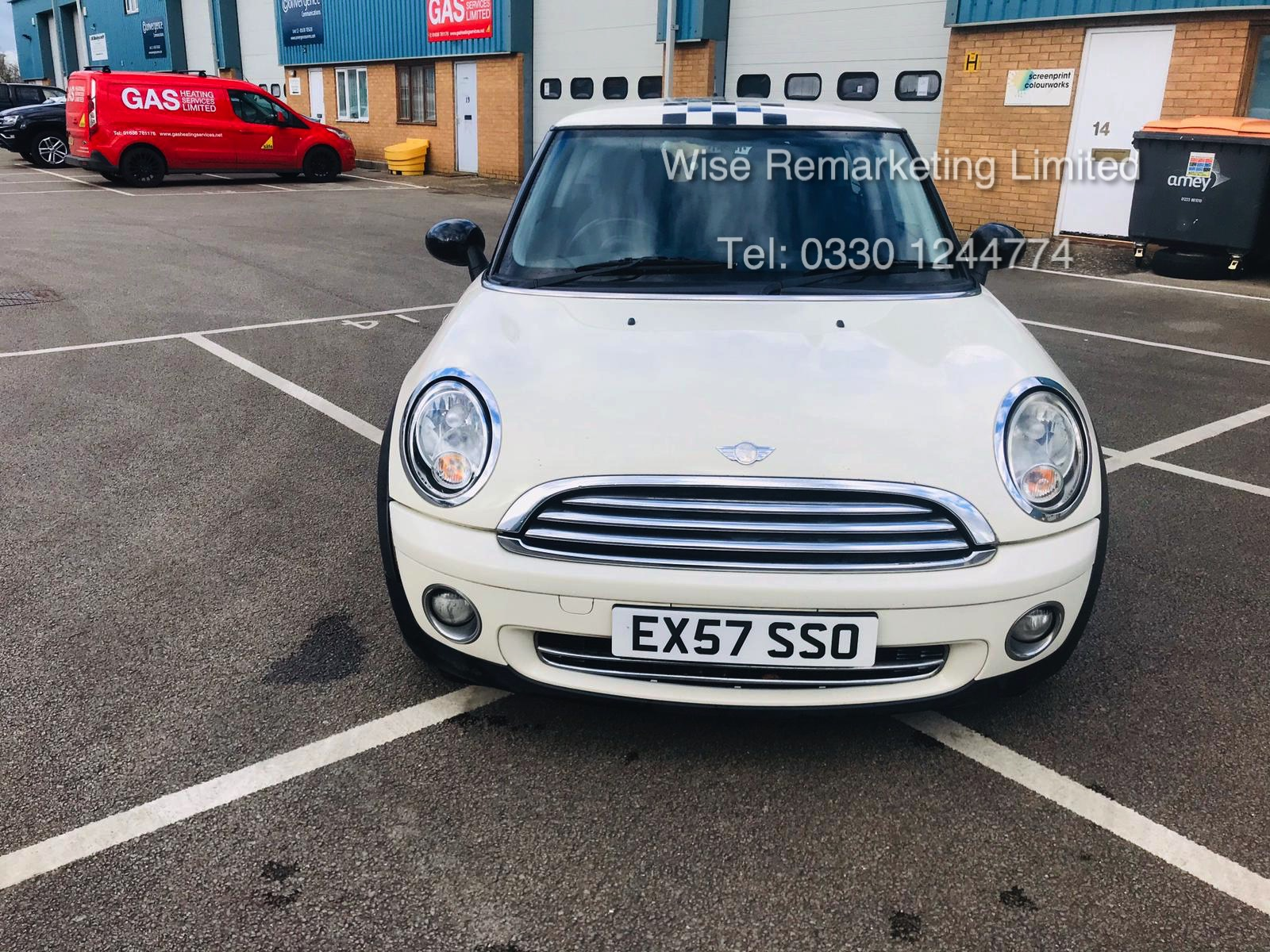 (RESERVE MET) Mini Cooper 1.4l One - 2008 Model - Service History - Air Con - White - Image 2 of 23