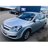 (RESERVE MET) Vauxhall Astra 5dr 1.3 CDTi Life Edition - 2010 Model - 6 Speed - Air Con