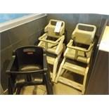 Chaises hautes pour enfants de marque RUBBERMAID