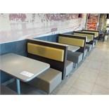 Cabines pour 4 personnes avec table