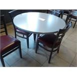 Tables ronde de 42'' diamètre