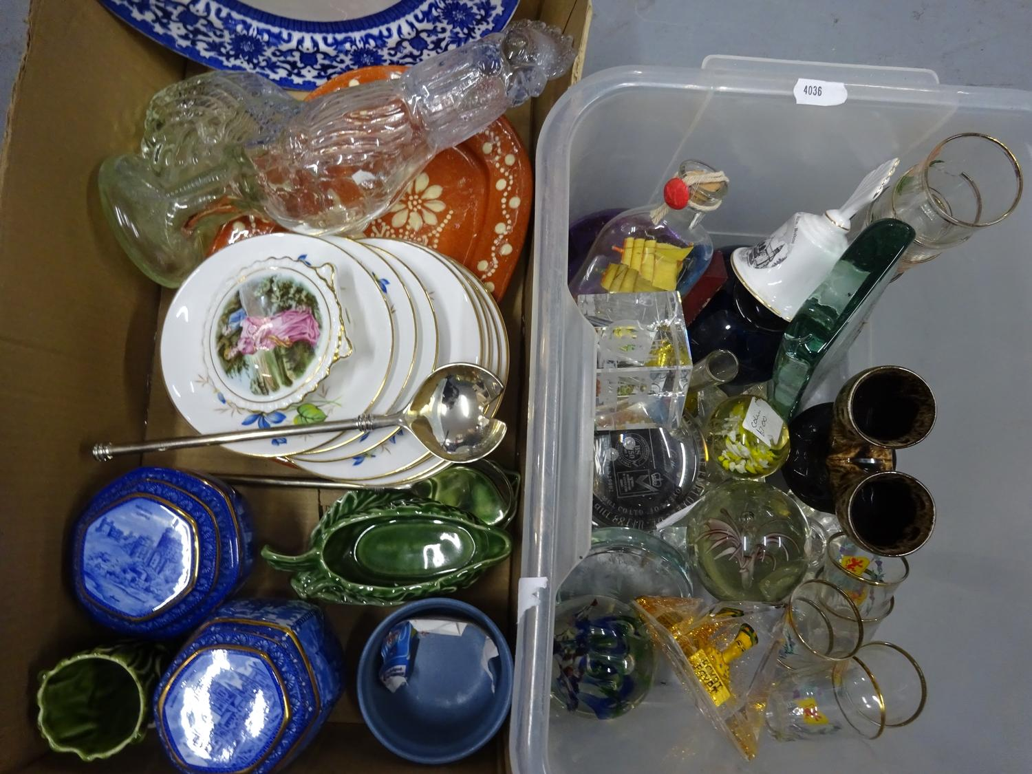 Lot 6 - Mixed lot of ceramics