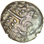 Cranborne Chase. c.58-40 BC. Celtic silver stater. 20mm. 5.53g.