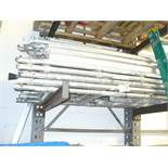 Youngman ACCESS TOWER comprising 5 x 2.1m x 0.8m H frames, including castors, outrigger supports,