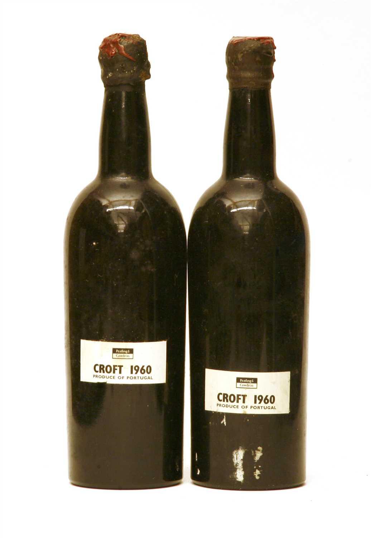 Lot 42 - Croft, 1960, two bottles
