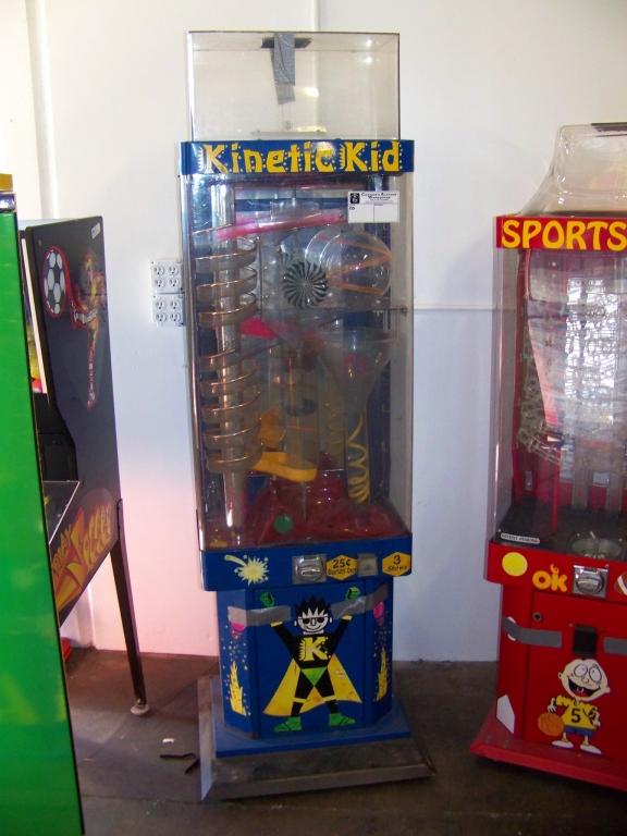 kinetic kid gumball machine