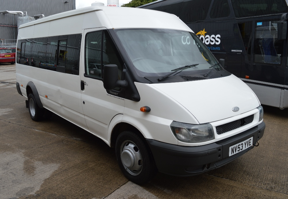 Seat For Ford 881 : Ford transit seat minibus registration number nv yve