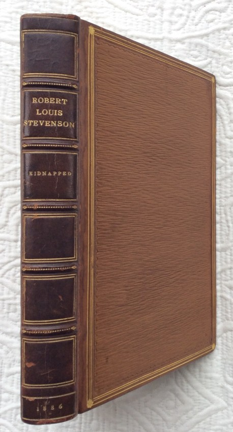 Lot 15 - Robert Louis STEVENSON (1850-1894). Kidnapped being memoirs of the adventures of David Balfour in