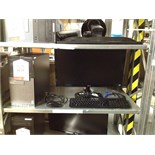 Lot 22 - Dell desktop PC Model: D15M Optiplex3020 with monitor, keyboard and mouse
