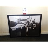 Lot 57 - Blues Brothers Framed Print Size: 76 x 56cm