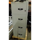 Lot 6 - Fire-proof Safe Filing Cabinet - Chubb PROFILE NT30""