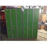 Lot 5 - 4 x 6 Personnel lockers