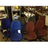 Lot 17 - 15 x Swivel Operator Chairs