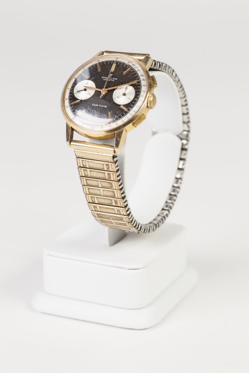 Lot 16 - GENTS BREITLING, GENEVE 'TOP TIME 2000' CHRONOGRAPH WRIST WATCH, manual winding movement, the