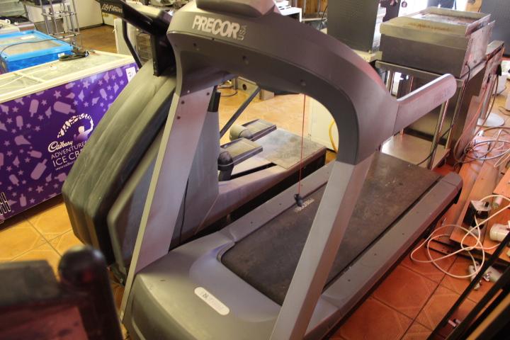 precor running machine