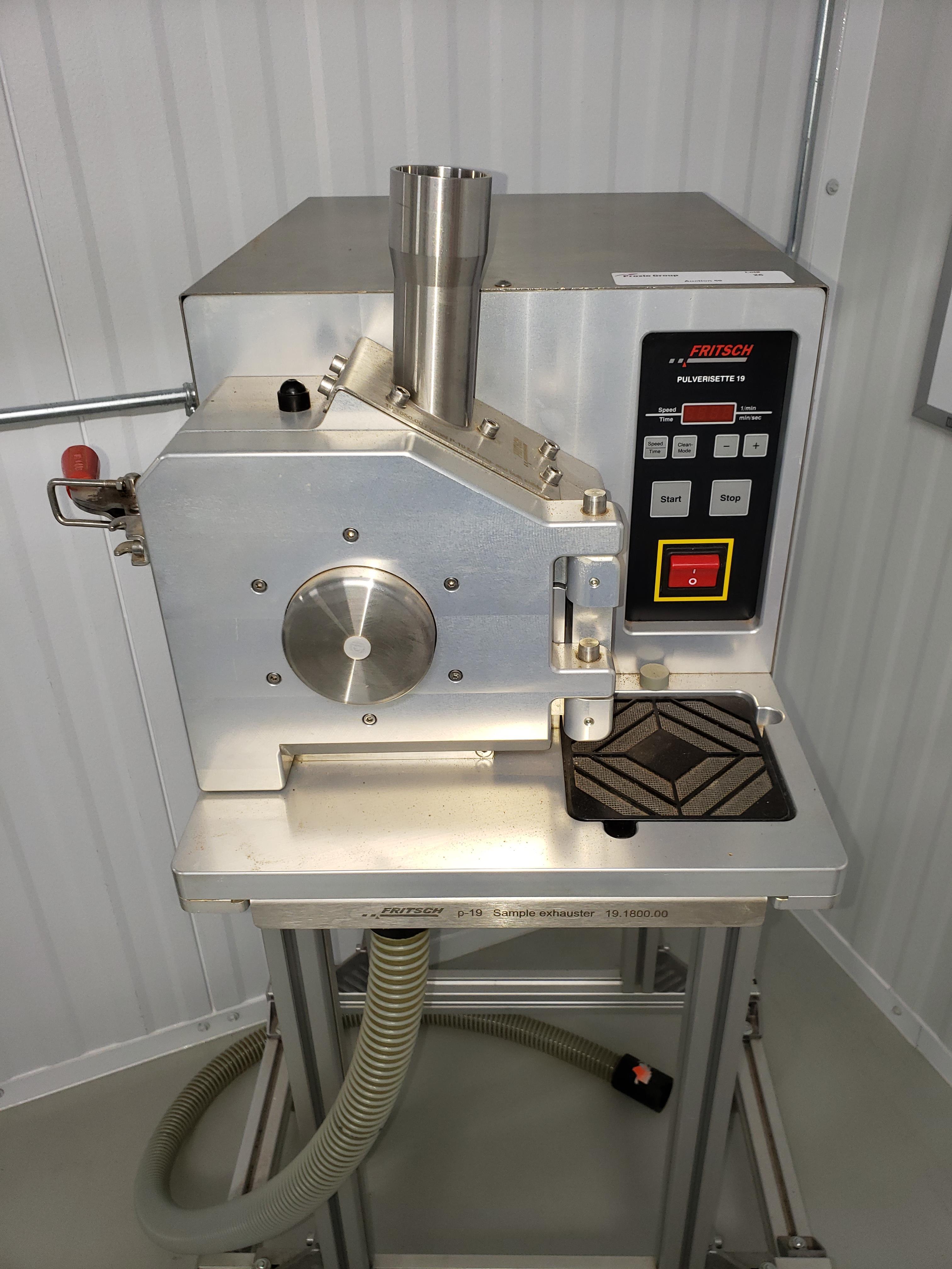Fritsch Pulverisette 19 Universal Cutting Mill