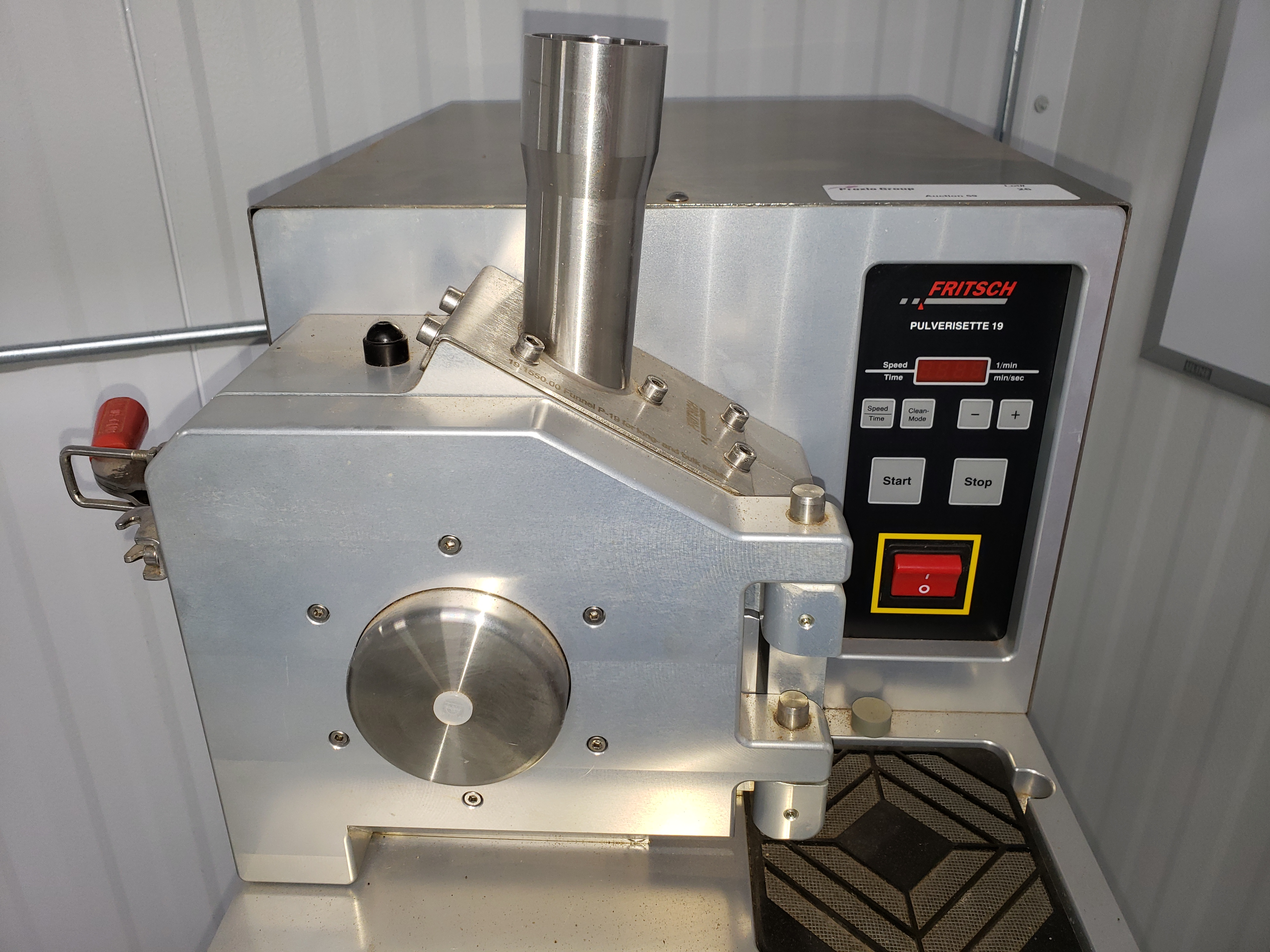 Fritsch Pulverisette 19 Universal Cutting Mill - Image 7 of 8