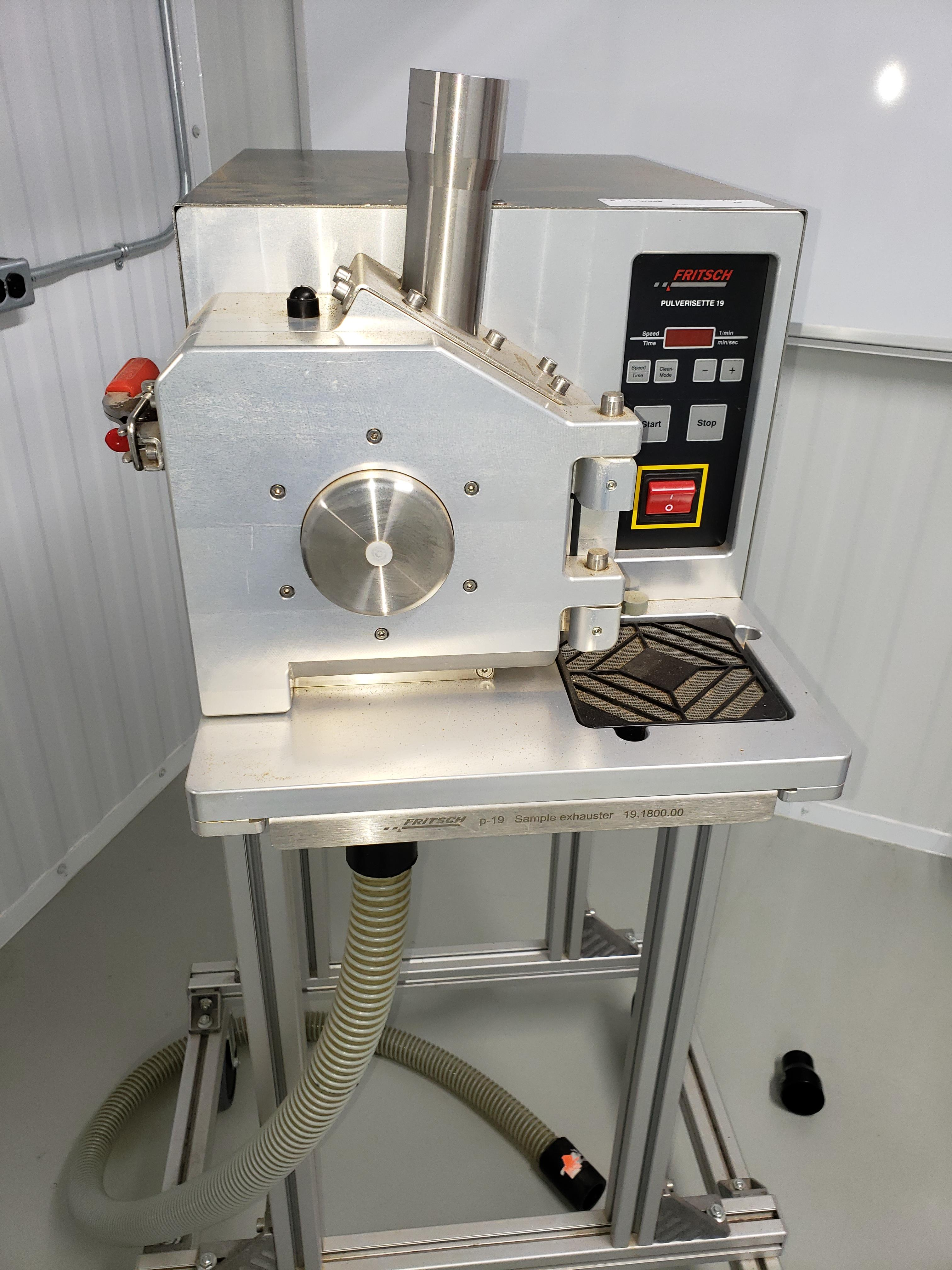 Fritsch Pulverisette 19 Universal Cutting Mill - Image 2 of 8