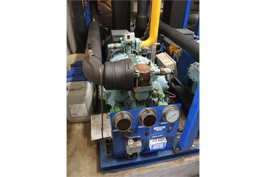 Mycom cooling compressor, model: F8K, serial number: 890288, cooling