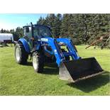 2014 New Holland T4.75 Powerstar MFWD Tractor s/n ZEAH02081 363hrs, 75hp, 540PTO, 3pt, (3)- Rear