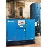 CompAir L90-10A Compressor w/ Abbott & Co Receiving Tank | YOM: 2004