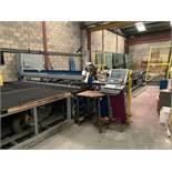 Lisec Cutting Line Incl: Cutting Machine, Laminated Glass Cutting Bridge, Cutting Table & Loader