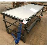Geo Bar Assembly Staple Bench w/ Senco Pneumatic Stapler