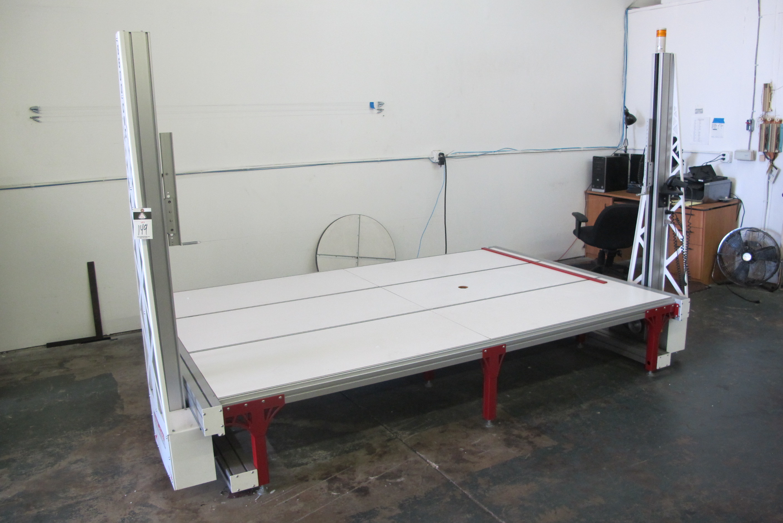 DIRECT CNC MODEL 8600 HOTWIRE CNC FOAM CUTTER WITH ROTARY ATTACHMENT ...