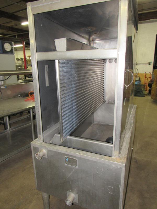 Chester Jensen Mdl. B-4-OT-1-24 Ammonia Plate Chiller, 4 plate capacity, current setup w/single - Image 3 of 6