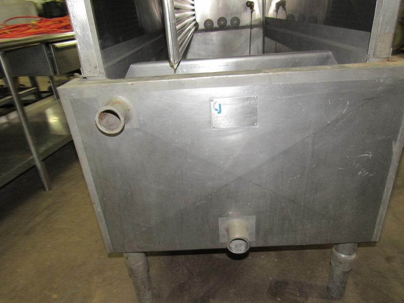 Chester Jensen Mdl. B-4-OT-1-24 Ammonia Plate Chiller, 4 plate capacity, current setup w/single - Image 6 of 6