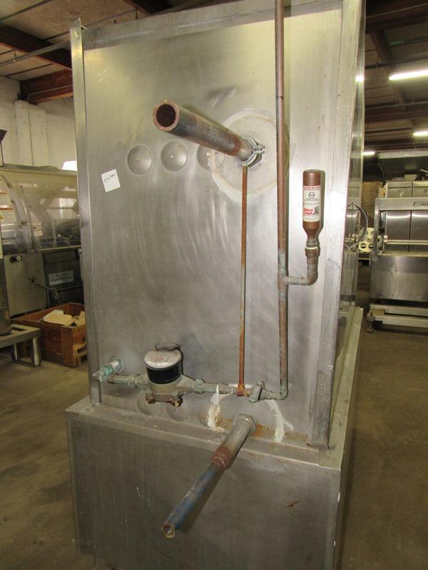 Chester Jensen Mdl. B-4-OT-1-24 Ammonia Plate Chiller, 4 plate capacity, current setup w/single - Image 4 of 6