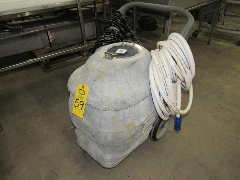 Lot 59 - Portable Stanitation Foamer with hose;;*** All Funds Must Be Received By Friday, January 17th,