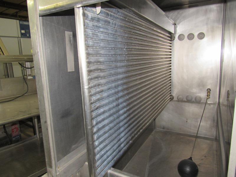 Chester Jensen Mdl. B-4-OT-1-24 Ammonia Plate Chiller, 4 plate capacity, current setup w/single - Image 5 of 6