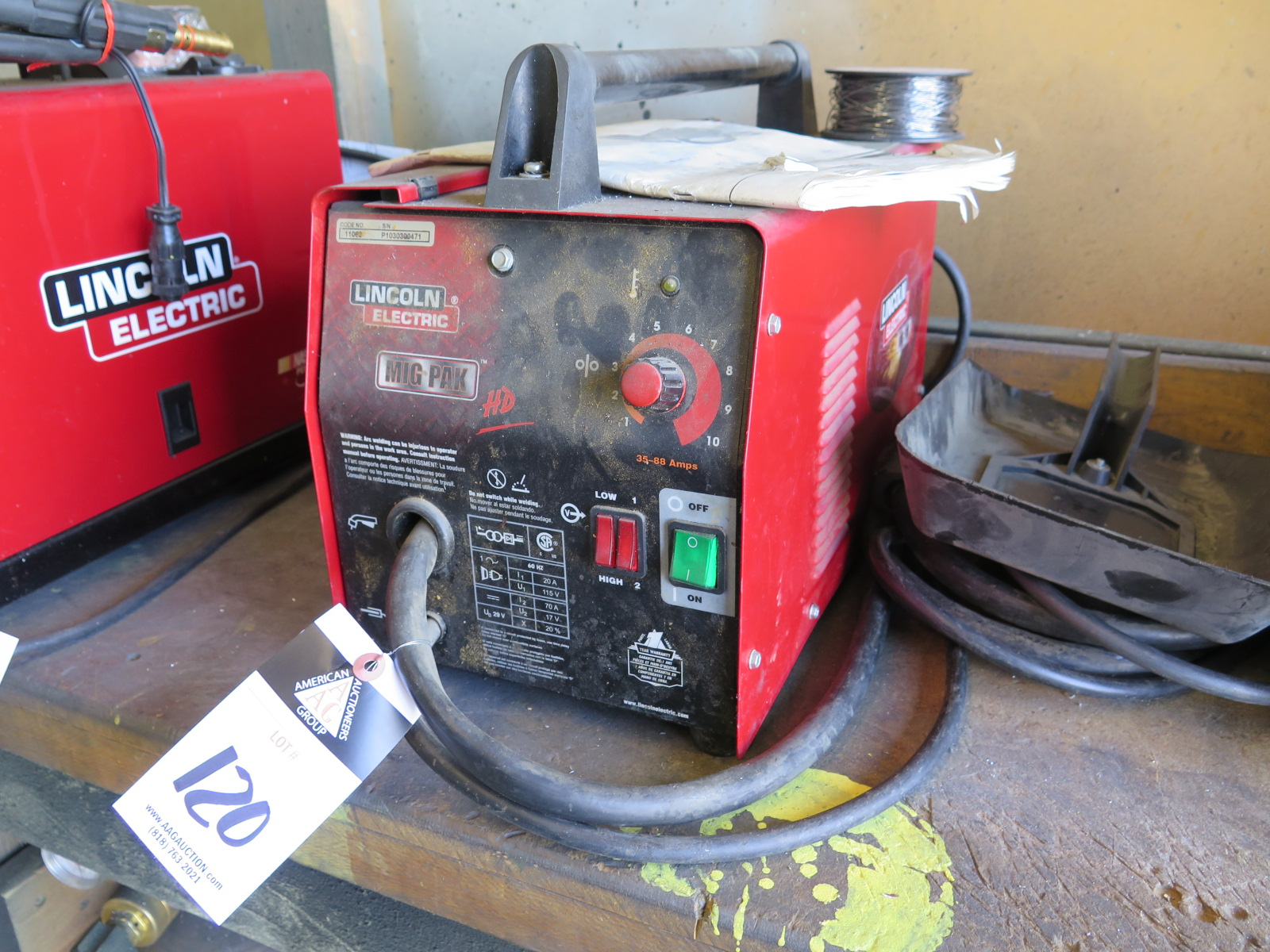 for lincoln mp welder mig process feed multi power wire sale