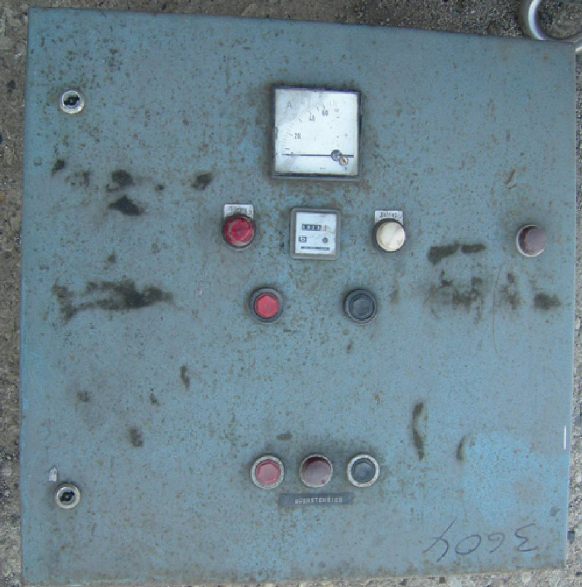 Lot 4 - Westfalia Model SA-64 desludger disc Centrifuge