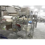 Dough conveyor, 16 ft. long x 31 in. wide x 52 in. tall, SS frame, with drive   __This item is