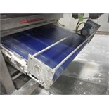Belt conveyor, blue sanitary belt, 19 ft. long x  50 in. wide, SS frame with drive   __This item