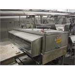 Dough crossroller, plastic rolls, SS frame, with drive   __This item is located in Kentucky and will