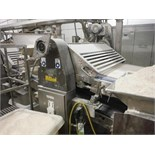 Sheeting roll stand, 54 in. wide SS rolls, with drives   __This item is located in Kentucky and will