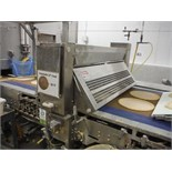 Paper cutter 48 in. wide, with vacuum belt, 96 in. long x 48 in. wide x 43. in tall, SS frame,