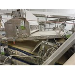 Belt conveyor, white sanitary belt, 60 in. long x 48 in. wide, SS frame, with drive   __This item is