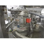 SS hopper, 48 in. dia x 72 in. tall, cone bottom dust collector   __This item is located in Kentucky
