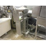 Fritsch SS flour sifter, Type MSG UB 1350 05288-023.000, SN 9711-0332, 54 in. long x 3 in. wide,